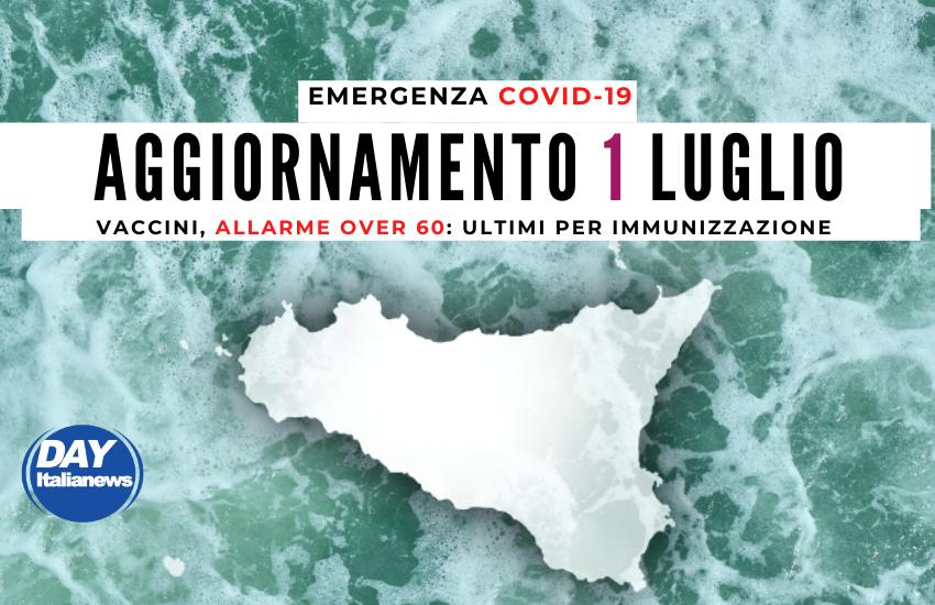 Covid, 1 luglio: primi in Italia per contagi giornalieri. Vaccini, allarme over60: ultimi per immunizzazione