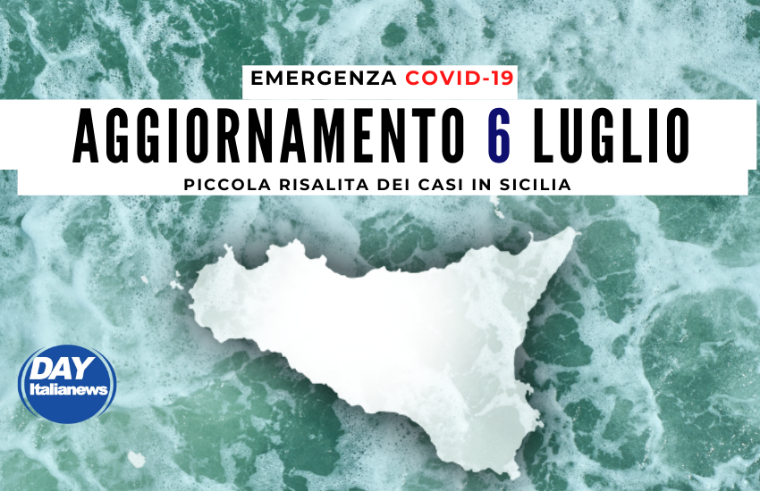 Covid 6 luglio, in Sicilia risalgono contagi e tasso di positività