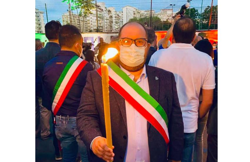 XXIX anniversario della strage di Via D'Amelio: il Comune di Montebelluna presente alla fiaccolata commemorativa a Palermo