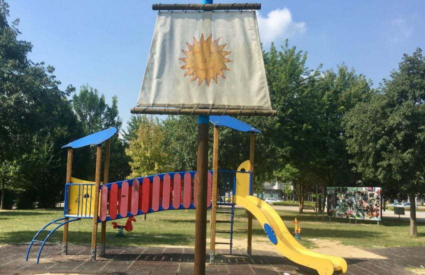 Montegrotto, parchi giochi: al via le manutenzioni, chiusure a rotazione