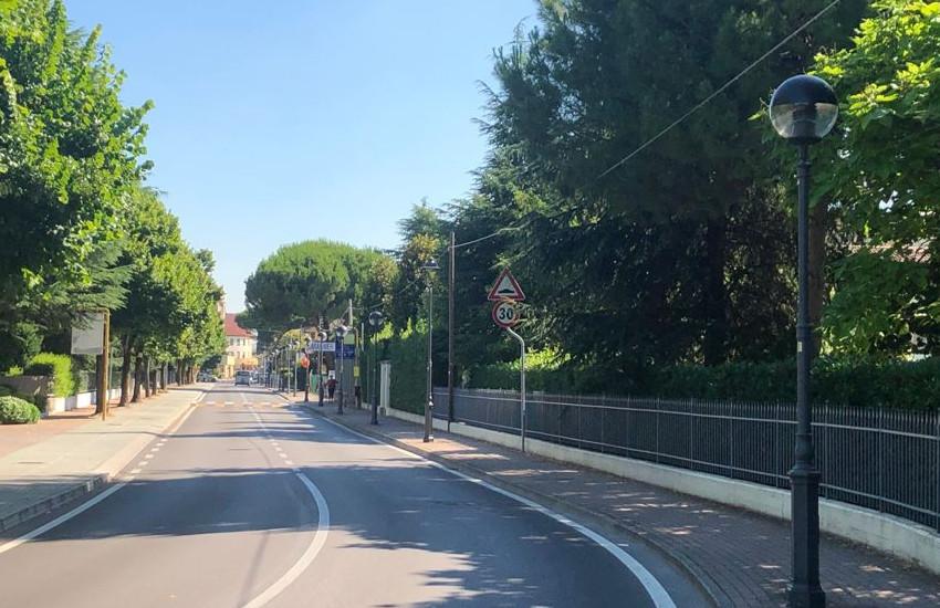 Montegrotto, lampioni più efficienti in via via San Pio X, via Neroniana, via Castello e via Matteotti