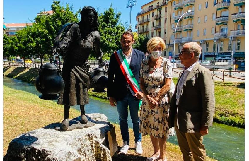 Treviso, scoperta la targa dedicata a Gianfranco Crespan