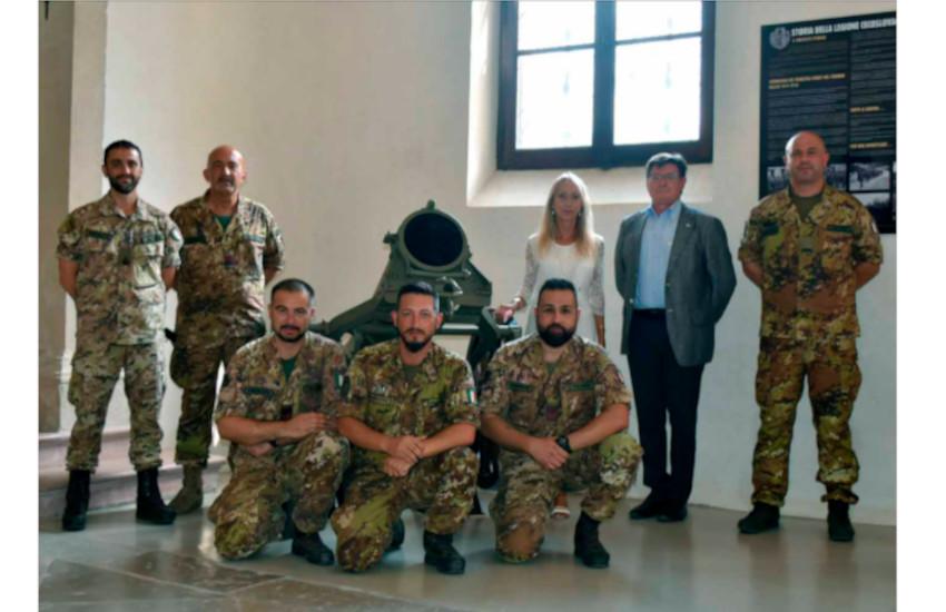 Vittorio Veneto, completata la campagna di restauro delle artiglierie del Museo della Battaglia