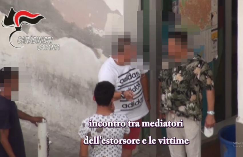 [VIDEO] Paternò, 5 arresti per estorsione pluriaggravata, ecco i nomi