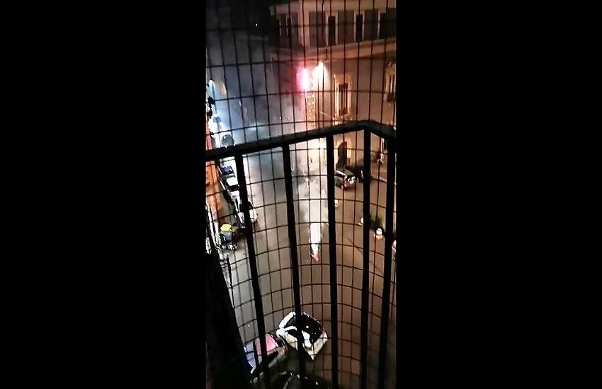 Catania, i fuochi d'artificio della sconfitta (VIDEO)
