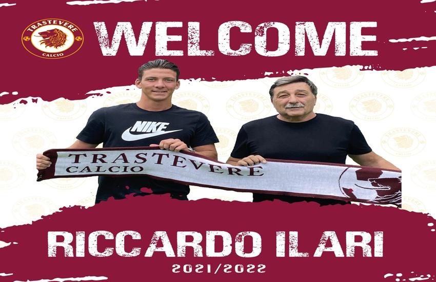 Riccardo Ilari nuovo giocatore del Trastevere Calcio