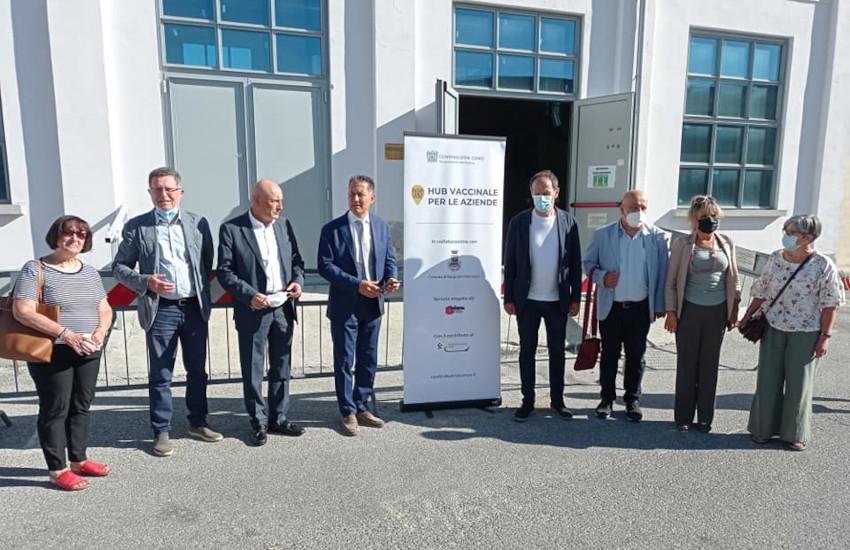 Cuneese, aperti 2 nuovi hub vaccinali a Borgo San Dalmazzo e Mondovì