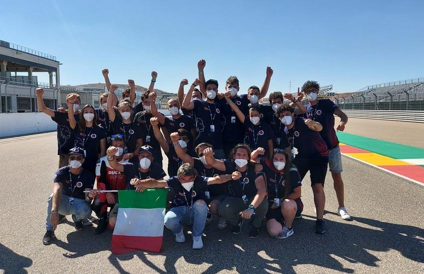 Team UniBo Motorsport trionfa alla Motostudent International Competition 2021
