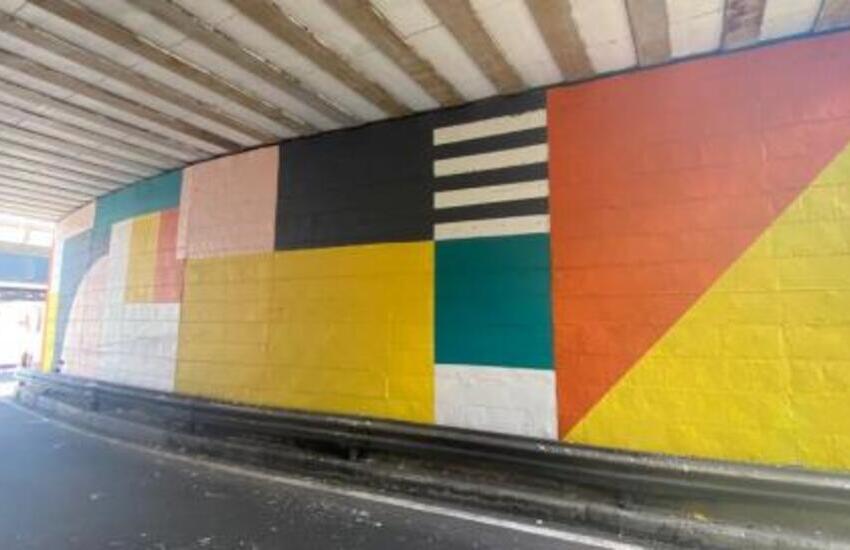 Repicta, l'arte di strada colora la sopraelevata
