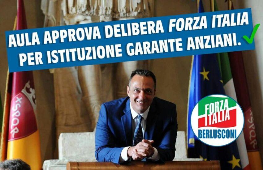 De Vito,approvata delibera per istituzione Garante Anziani Roma Capitale