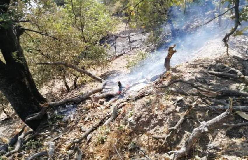 Castelmola: Protezione Civile di Giardini Naxos  trova degli inneschi