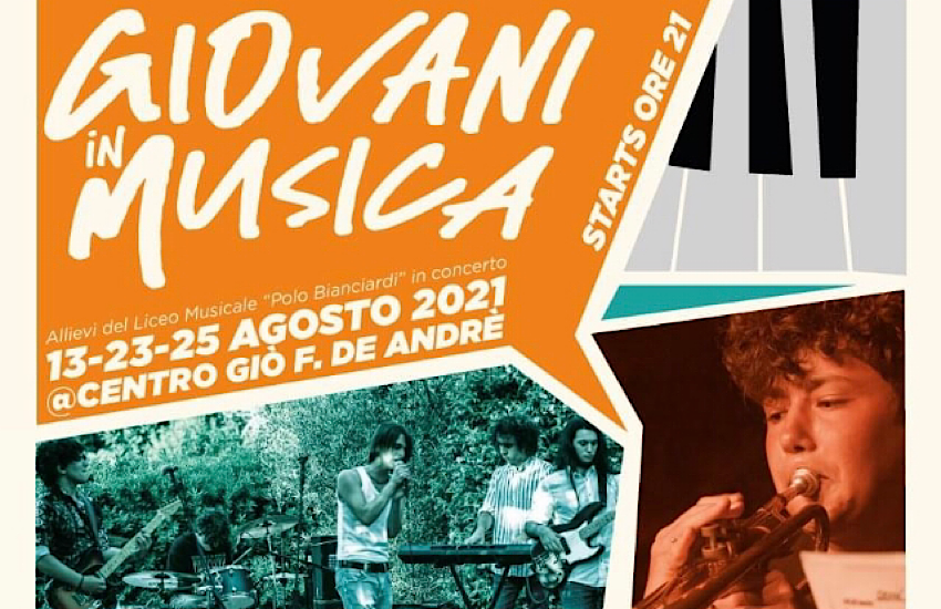 AL CENTRO GIOVANI TRE CONCERTI DELLE BAND DEL LICEO MUSICALE DI GROSSETO