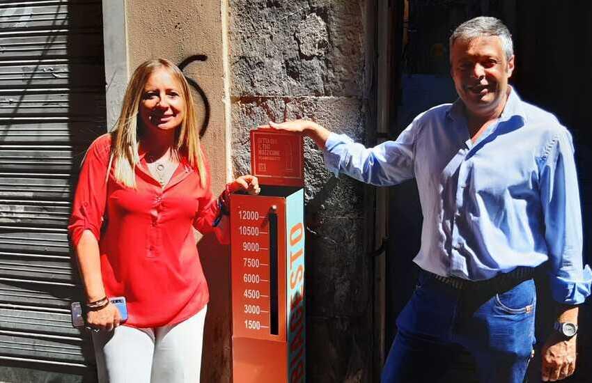 Caruggi, 12 contenitori #Cambiagesto per i mozziconi di sigaretta