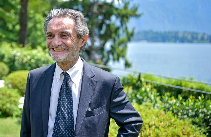 Fontana: 'Lombardia resta bianca grazie a vaccinazioni'