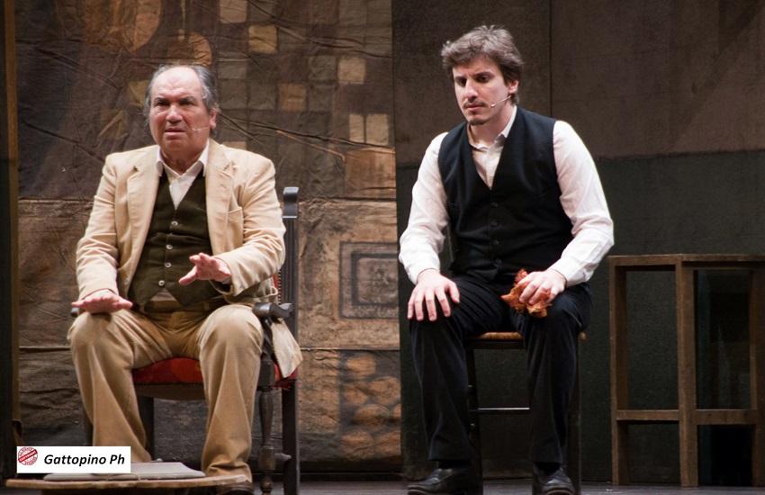 """Al teatro de Le Ciminiere """"L'importanza di essere Idonea"""": un tributo al grande Gilberto e ad Angelo Musco"""