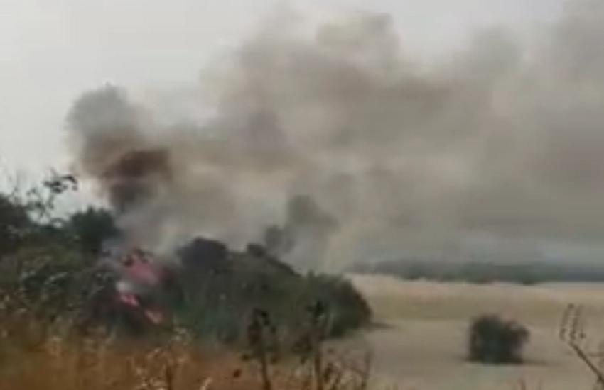Fiamme nel Catanese: morto un agricoltore a Paternò, danneggiata macchia mediterranea a Zafferana