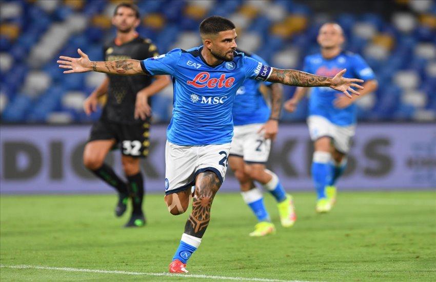 """Napoli-Venezia 2-0, le pagelle """"irriverenti"""": Insigne """"ciacca e medica"""", Osimhen """"guappo di cartone"""""""