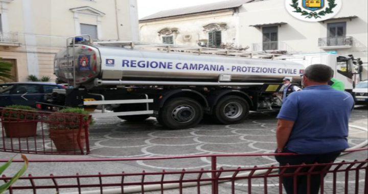 """Assenza di acqua da 24 ore, interviene il sindaco di Casoria: """"In arrivo autobotti sul territorio. Priorità ai soggetti fragili"""""""