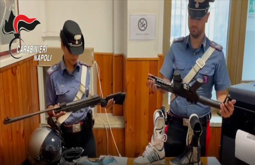 """Torre Annunziata, si """"divertivano"""" a sparare pallini di gomma contro i cittadini. Individuati 2 giovanissimi (VIDEO)"""