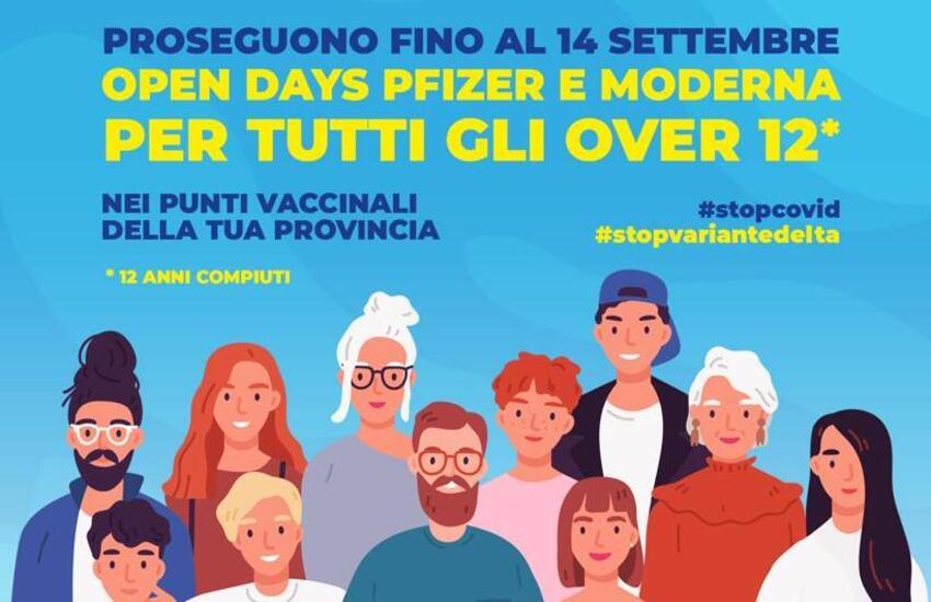 Vaccini – In Sicilia Open Days fino al 14 Settembre