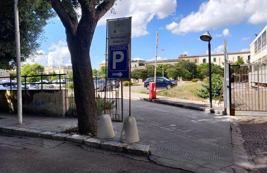 Parcheggi a Lecce, dal 6 al 30 agosto disponibili tutti i giorni quelli in convenzione con Unisalento