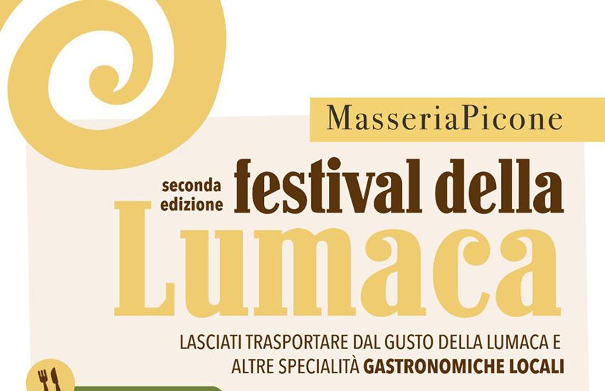 Arriva il Festival della lumaca