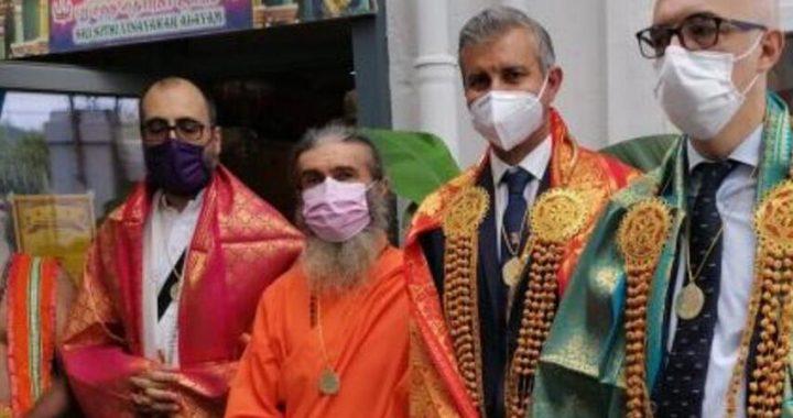 Inaugurato il nuovo tempio induista in corso Gastaldi