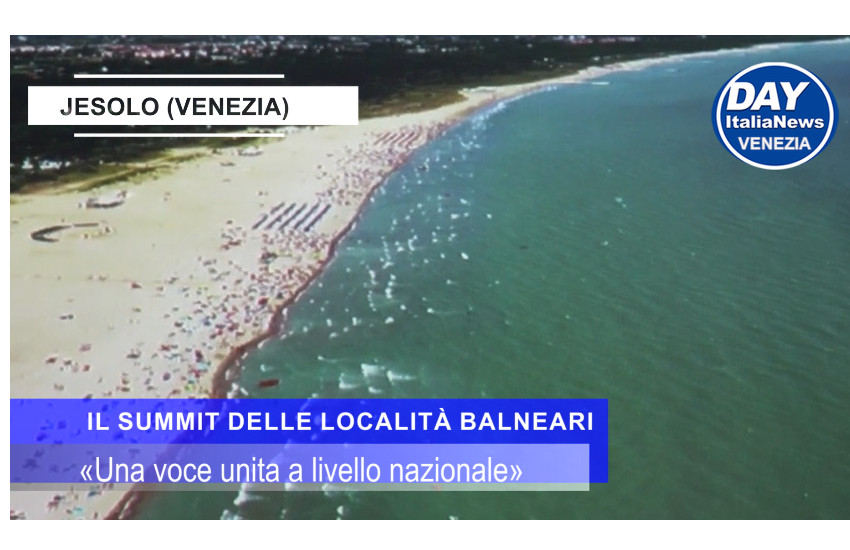 VIDEO. Jesolo: G20S, il summit delle spiagge: «Ecco cosa vogliamo»