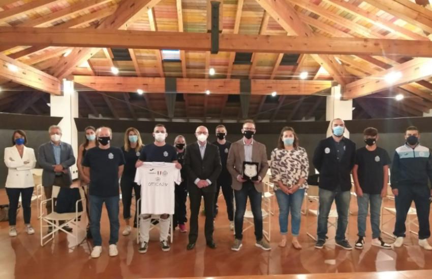 Futsal Treviso A.S.D., campioni d'Italia.  Montebelluna celebra lo storico scudetto ottenuto dalla squadra di ipovedenti