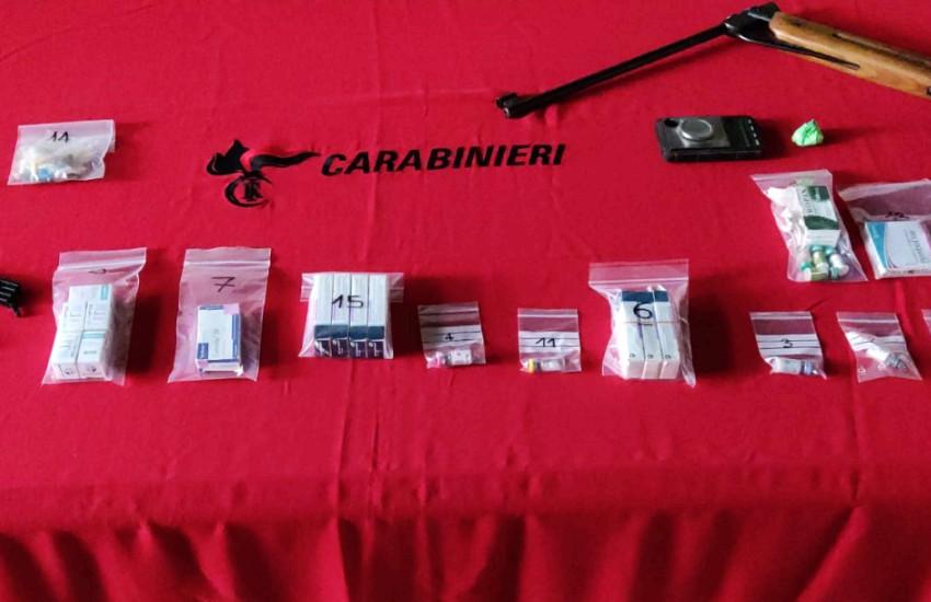 Treviso, deteneva numerosi farmaci dopanti, armi e droga. Denunciato a piede libero