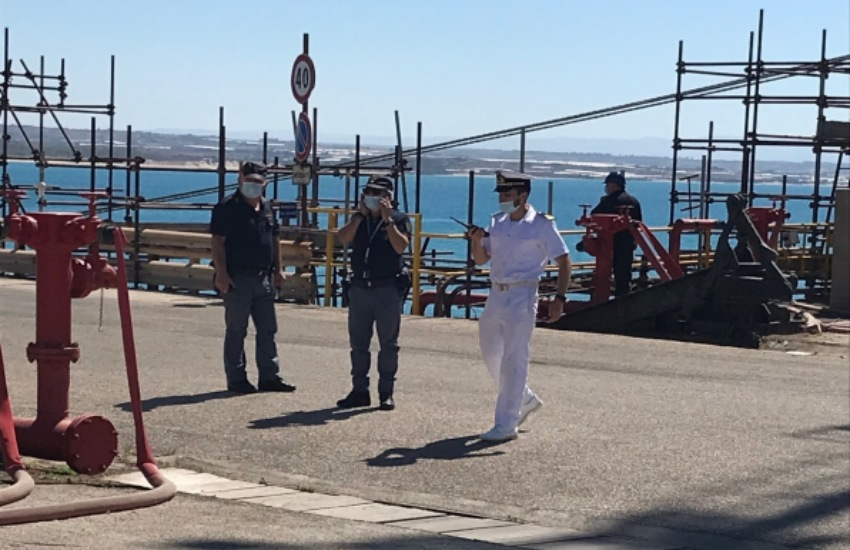 Gela, Guardia Costiera: esercitazione di security portuale
