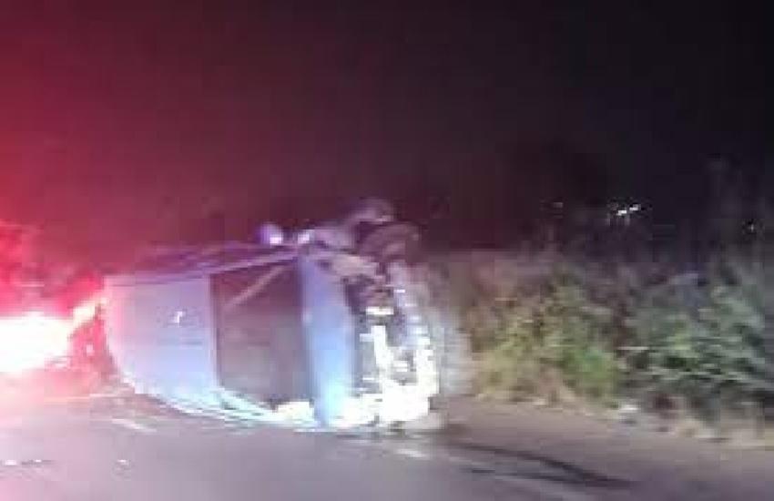 Incidente sulla Ragusa-Marina di Ragusa: 5 feriti