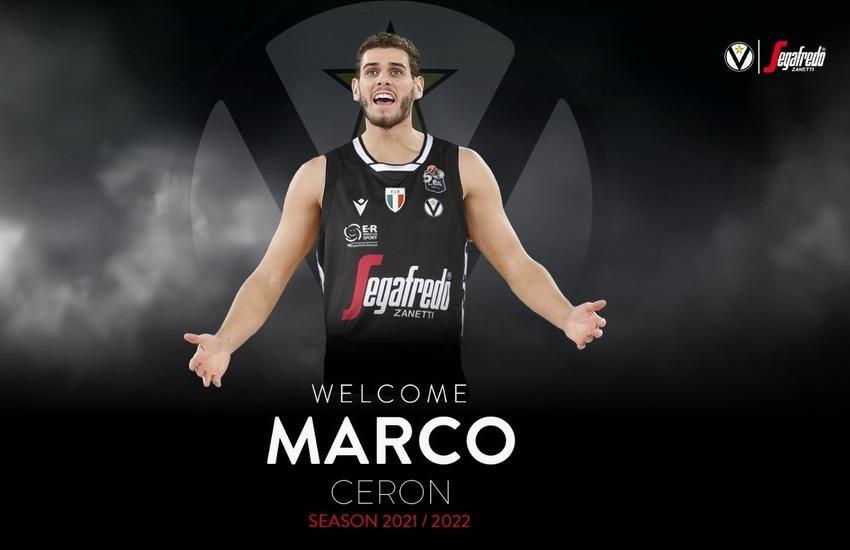 Marco Ceron è della Virtus Bologna