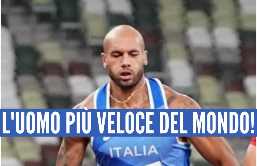 Marcell Jacobs è l'uomo più veloce del mondo! Oro storico nei 100m!