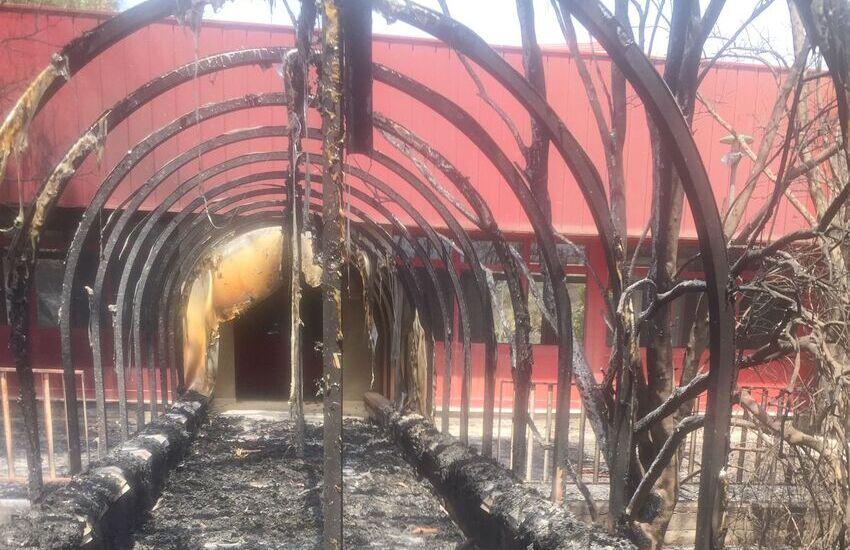 Incendi a Fossa Creta, corsa contro il tempo per rendere agibile la scuola