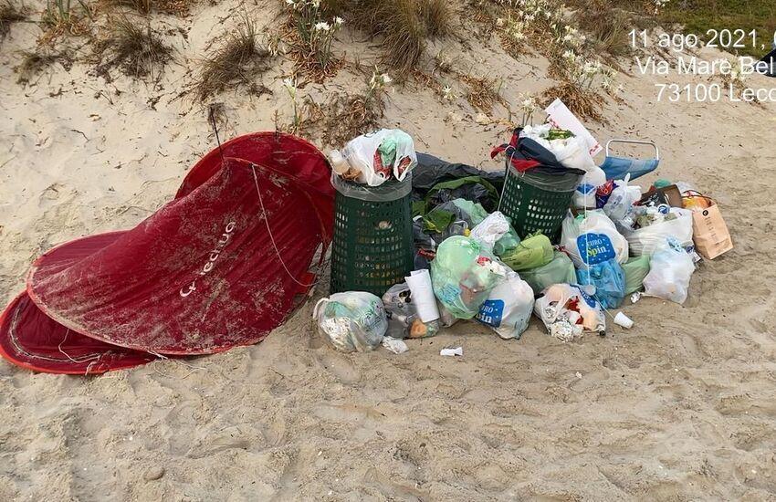 Emergenza rifiuti sulle spiagge dopo San Lorenzo. 20mila euro dalla Regione per la pulizia