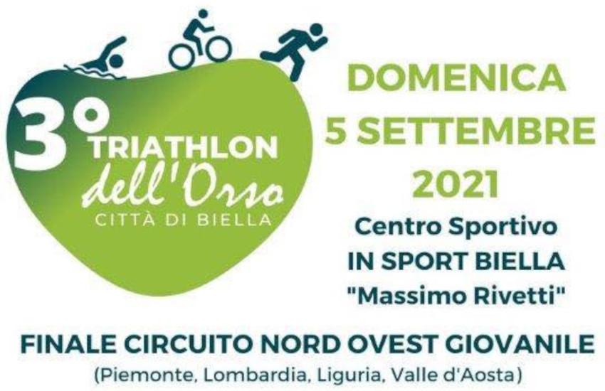 Biella, il 5 settembre c'è il Triathlon dell'Orso: modifiche alla viabilità