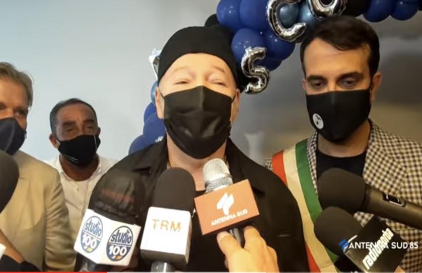 Castellaneta (TA): Cittadinanza onoraria a Vasco Rossi