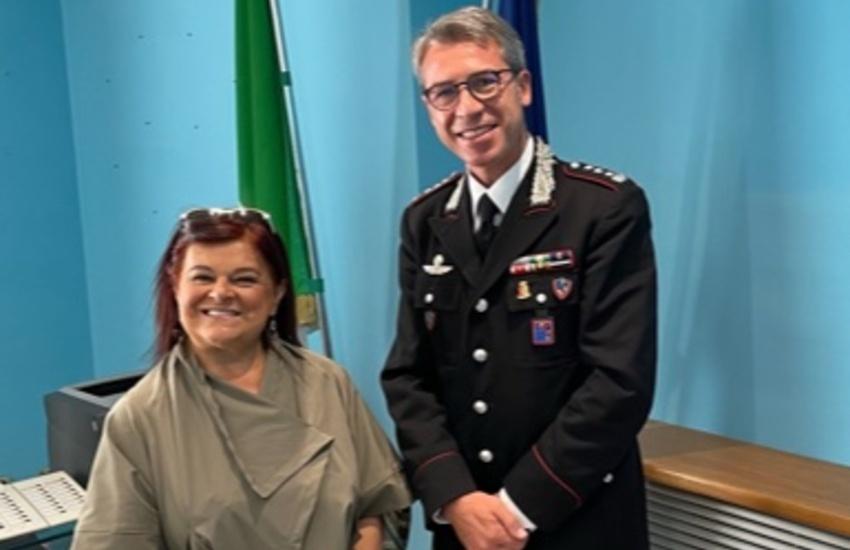 """Carabinieri, Pezzopane (Pd): """"grazie al colonnello Santantonio per il suo grande impegno"""""""