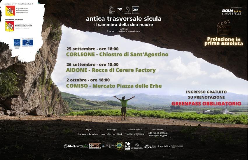 Il viaggio dell'Antica Trasversale Sicula diventa un film. Annunciate le prime tre proiezioni assolute: una sarà a Comiso