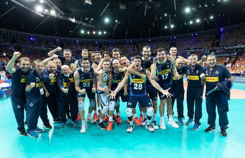 Volley: Slovenia ko, Italia campione d'Europa