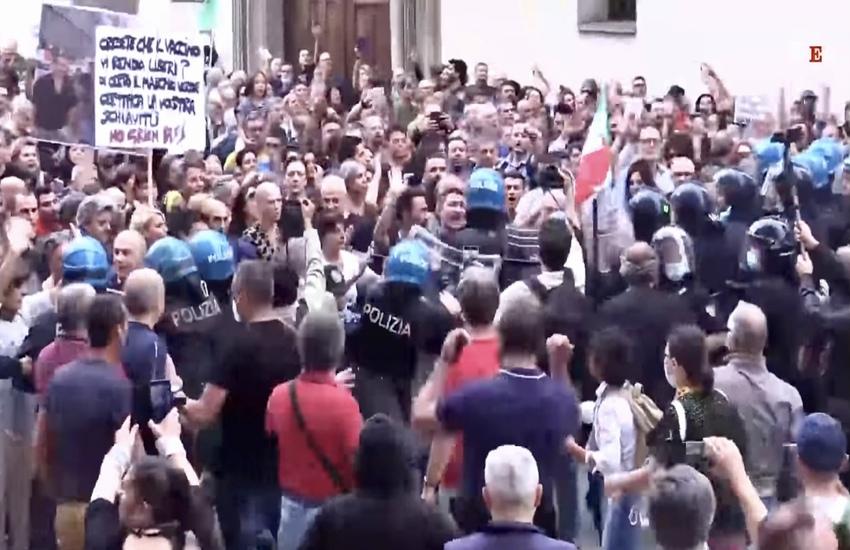 Milano: No Green pass,41 indagati per l'ultima manifestazione