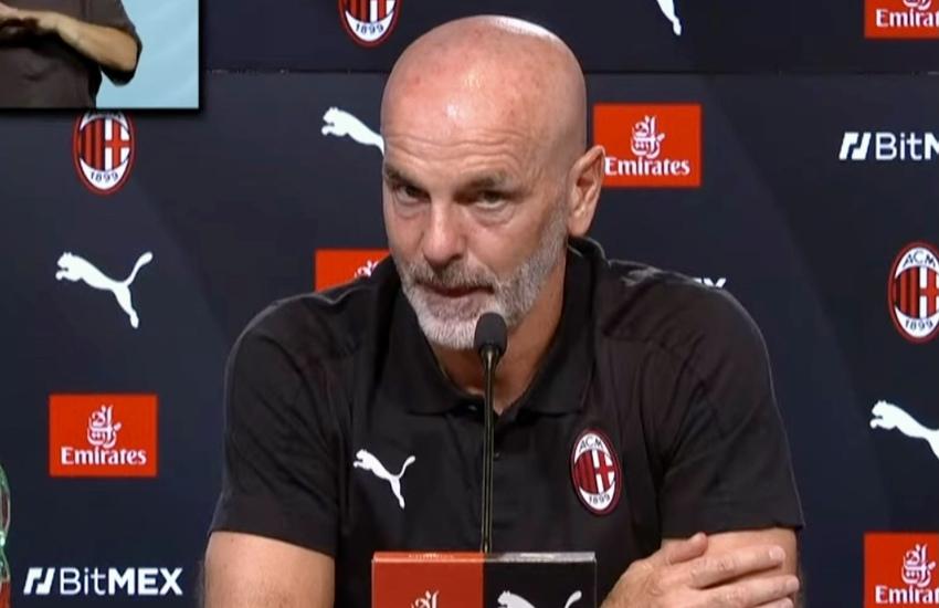 Milan: Pioli, 'Nella sfida con la Juve non siamo favoriti'