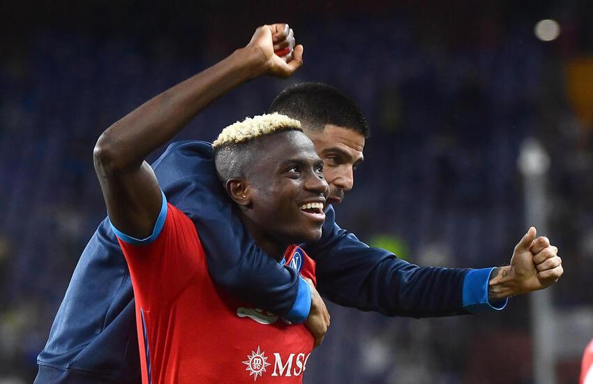 Serie A: Napoli inarrestabile, Inter e Milan in scia