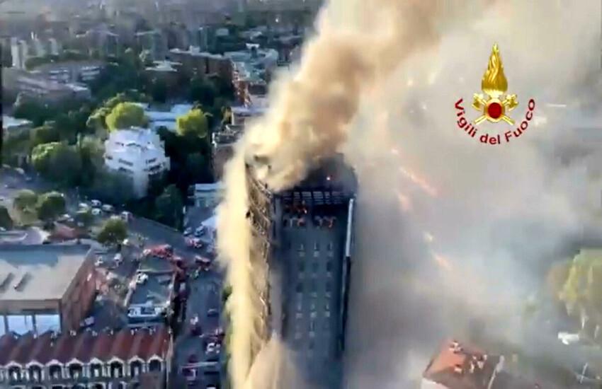 Milano: Incendio Torre dei Moro, dal Comune contributi per inquilini