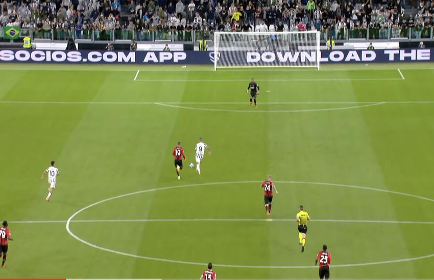 Juventus-Milan 1-1: La sintesi di Dazn