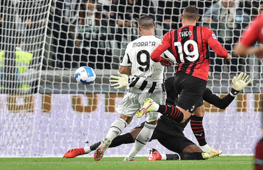 Juventus-Milan 1-1: I rossoneri riprendono l'Inter in vetta