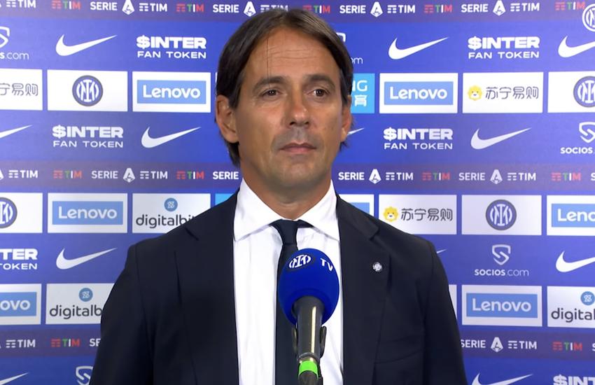 Inter: Inzaghi, 'Giocato con tanta rabbia in corpo'