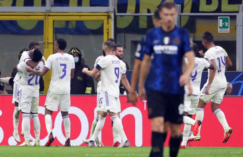 Champions League: Inter-Real Madrid 0-1, la beffa arriva al 90'