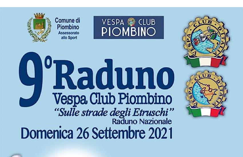 Presentazione del 9° raduno Vespa Club Piombino